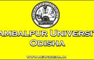 Sambalpur University +3 Final Year Exam Time Table 2018 For Arts, Science, Commerce