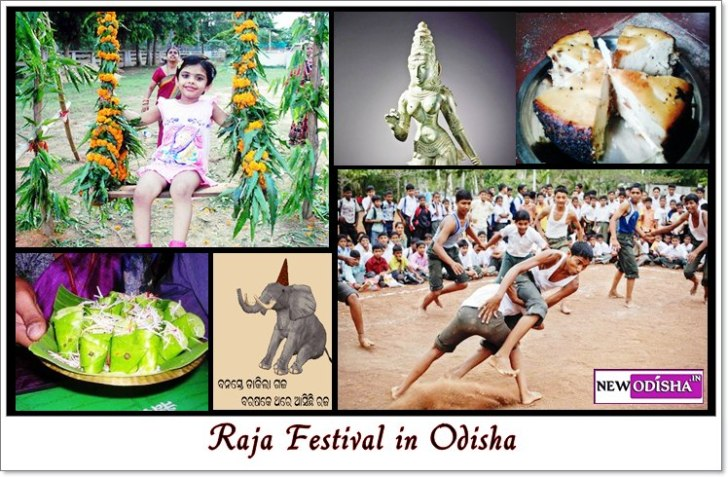 Raja Festival in Odisha