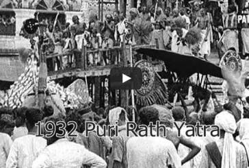 1932 Puri Rath Yatra Old and Rare Video Clip