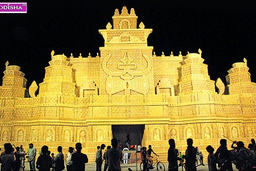 Rasulgarh Durga Puja Gate 2015