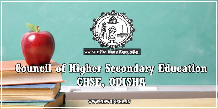 Odisha CHSE +2 Exam 2016 Time Table (Arts / Science / Commerce)