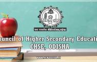 CHSE Odisha +2 Science Annual Exam Results 2018 : 19/05/2018
