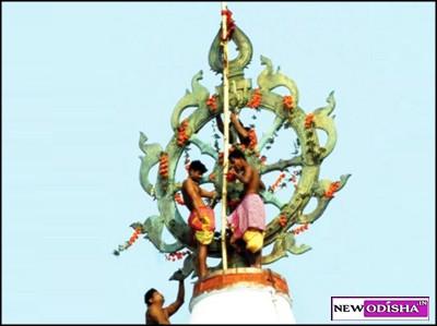 Puri Jagannath Temple Neele Chakra