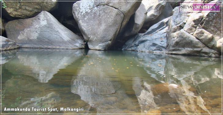 Ammakunda Tourist Spot in Malkangiri of Odisha