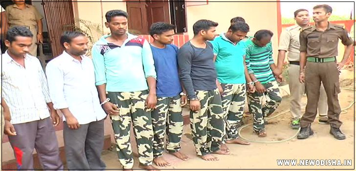 Fake CRPF in Nayagarh