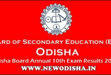 Odisha Matric 10th 2018 Results by BSE Odisha