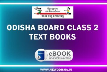 Odisha Board Class 2 Text Books by Odisha Primary Education