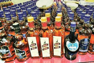Liquor seized in Nayapalli area of Bhubaneswar, father son arrested