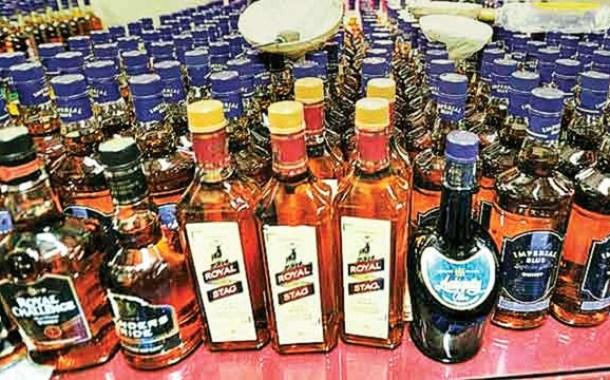 Liquor seized in Nayapalli area of Bhubaneswar, father son arrested
