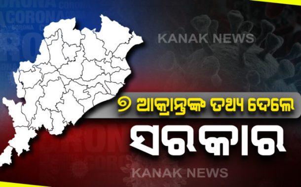 7 new Covid-19 positives in Odisha, 5 belong to Bhadrak, 2 to Balasore