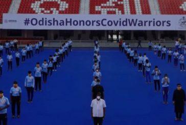 Odisha Salutes COVID-19 warriors by reciting