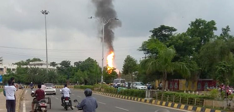 Petrol Pump Near Odisha Governor's House Burst Into Flames, Several Injured