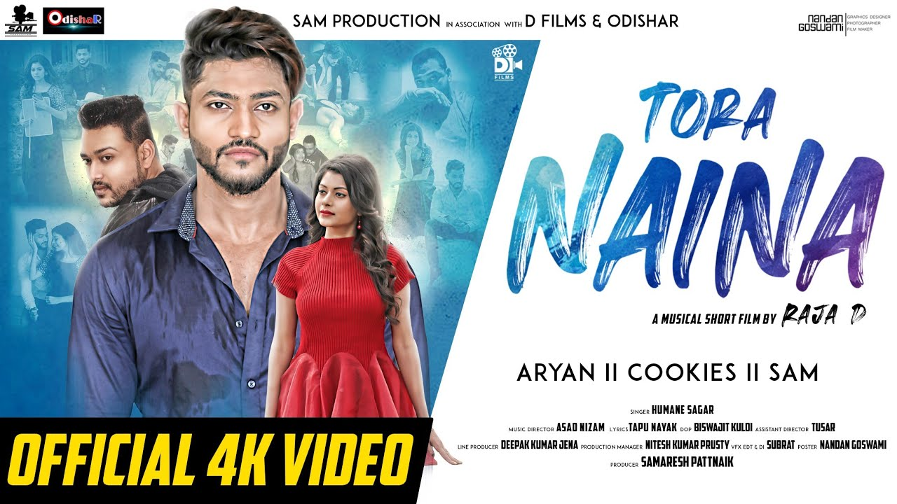 Tora Naina - Odia HD Video Song starring Cookies and Aryan