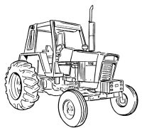 CASE 580 Super E Loader Backhoe Service Manual