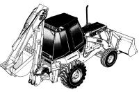 CASE 580C Construction King Backhoe Loader Service Manual