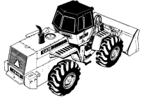 Ford TW-5, TW-15, TW-25, TW-35 Tractor Service Manual