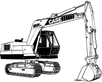 CASE 580C Construction King Backhoe Loader Service Manual