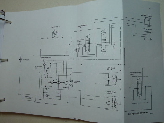 case 1825 wiring diagram