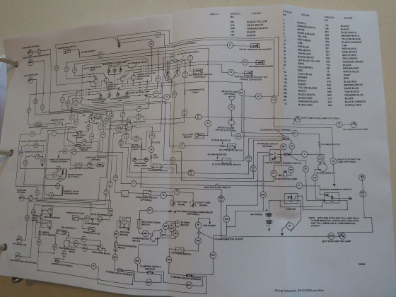 Case Tractor 480f Wiring Diagram
