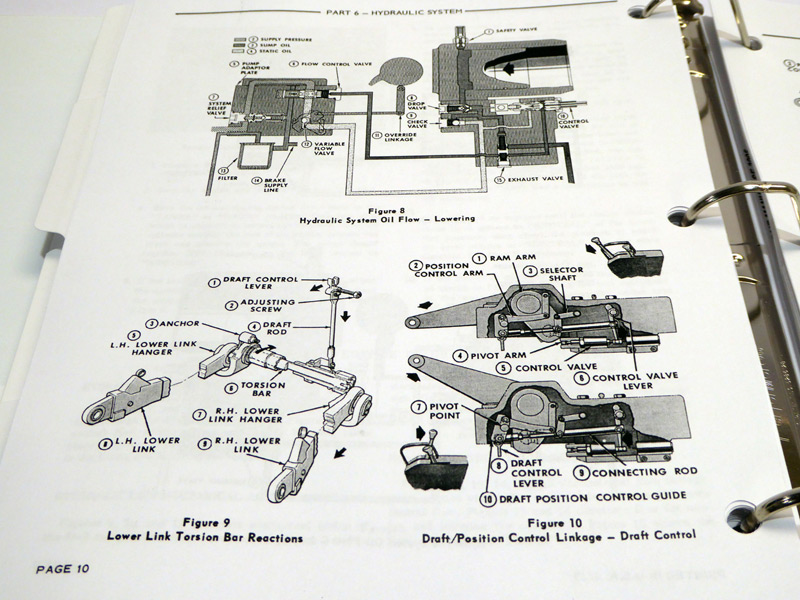 Ford 1210 Wiring Harness Ford 8000 8600 9000 9600 Tractor Service Manual Repair