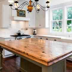 Kitchen Tops Wood Free Standing Shelves New England Countertops 15 Years Of Custom Waterproof Reclaimed Chestnut Table Top Made For The Company