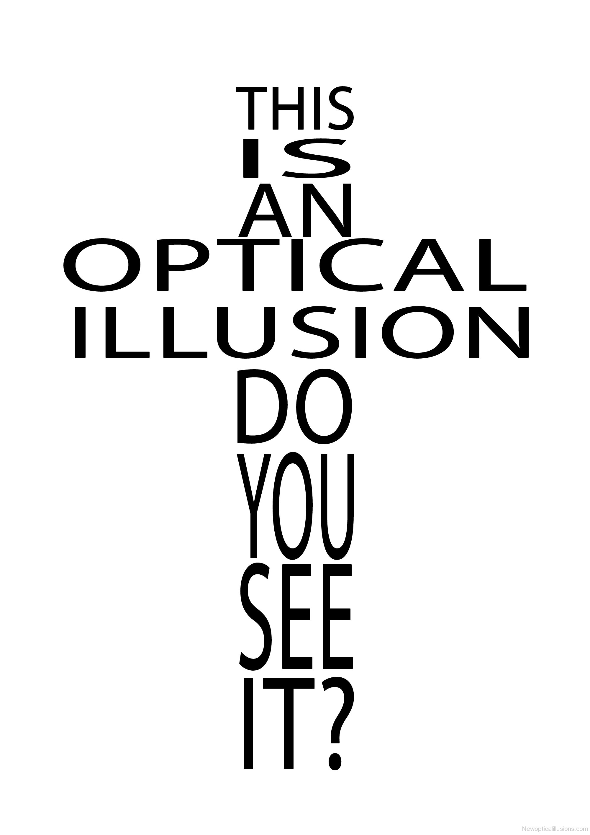 Mind Blowing Optical Illusions