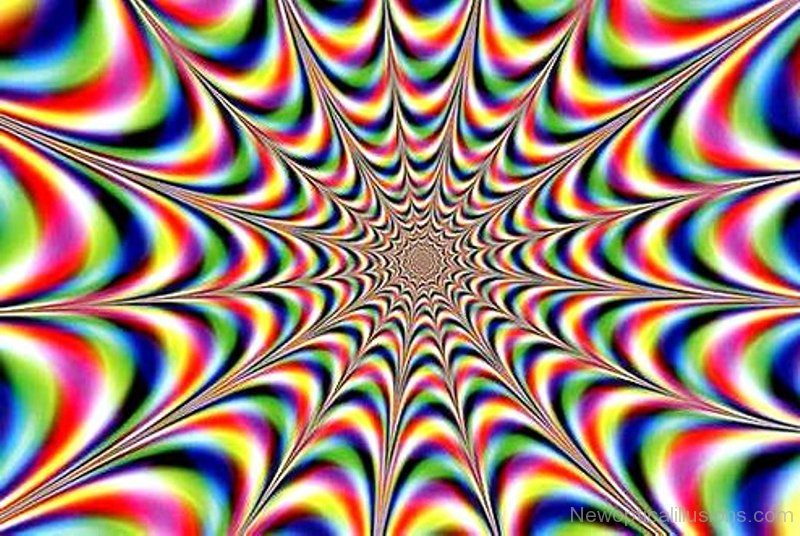 Trippy Animated Wallpapers Rainbow Fractal