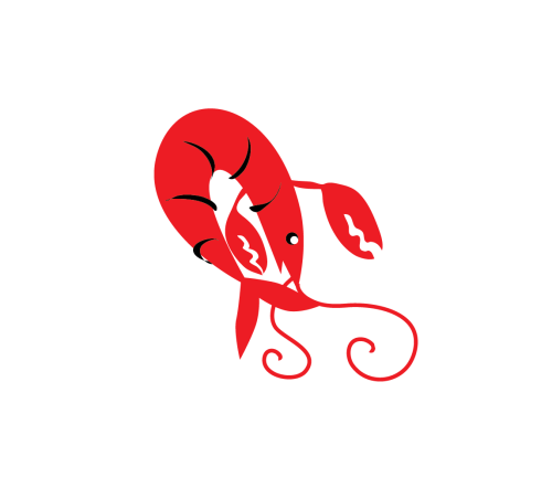 small resolution of bending crawfish clip art