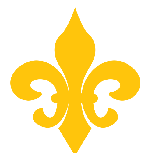small resolution of beautiful fleur de lis clip art