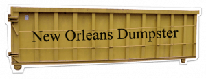 Dumpster Rental New Orleans