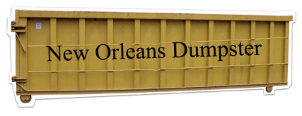Rent a Dumpster in New Orleans