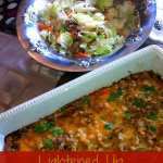For Mexican Cravings: Lightened Up Turkey Tamale Casserole