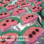 Savor Summer A Bit Longer: Watermelon Cookies