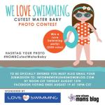 We LOVE Swimming :: End of Summer Cutest Water Baby Photo Contest {Sponsored By Love Swimming}