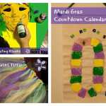 Crafting it Up for Mardi Gras: Tutu, Countdown Calendar and Decor