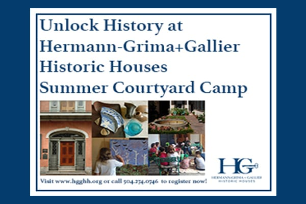 Historic Houses Summer Courtyard Camp