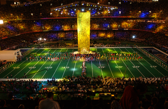 The MercedesBenz Superdome  New Orleans  Attraction
