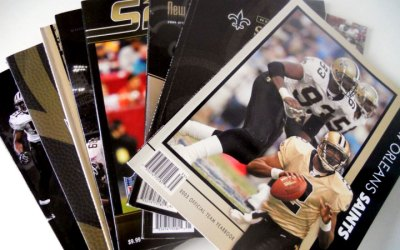New Orleans Saints Yearbooks