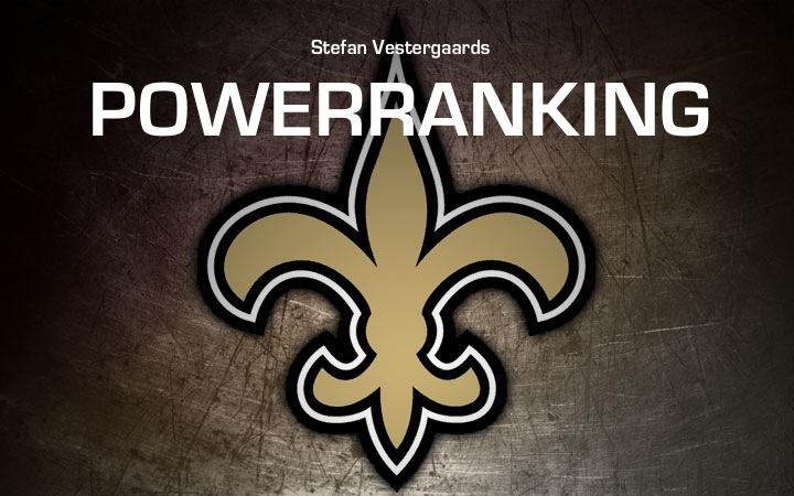 Stefan's Power Rank week 2
