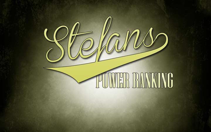 Stefan's Power Rank Week 5
