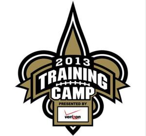 Saints training camp 2013