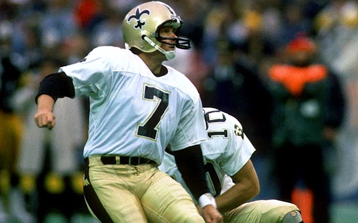 Morten Andersen i Hall Of Fame