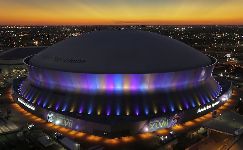 Mercedes Benz Superdome LED wall