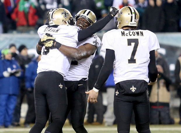 Saints 26, Eagles 24