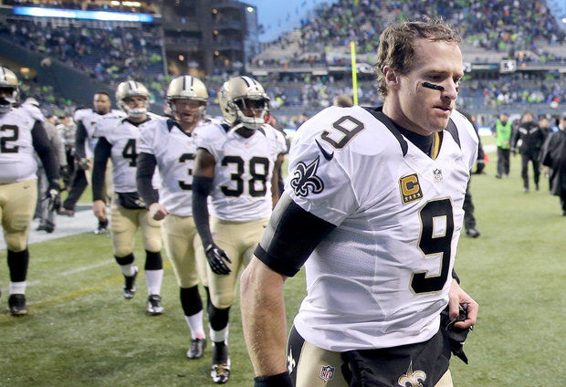 Saints 15, Seahawks 23