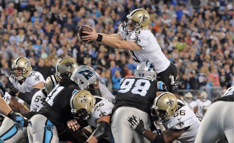 Saints 28, Panthers 10