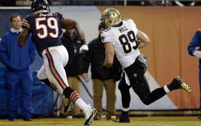 Saints 31, Bears 15