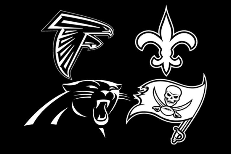Hvilket(hvilke) NFC South hold når slutspillet?