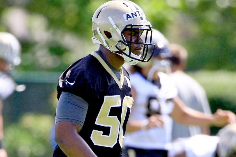 Saints trader linebacker Stephone Anthony