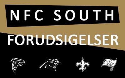 Week 8: NFC South forudsigelser